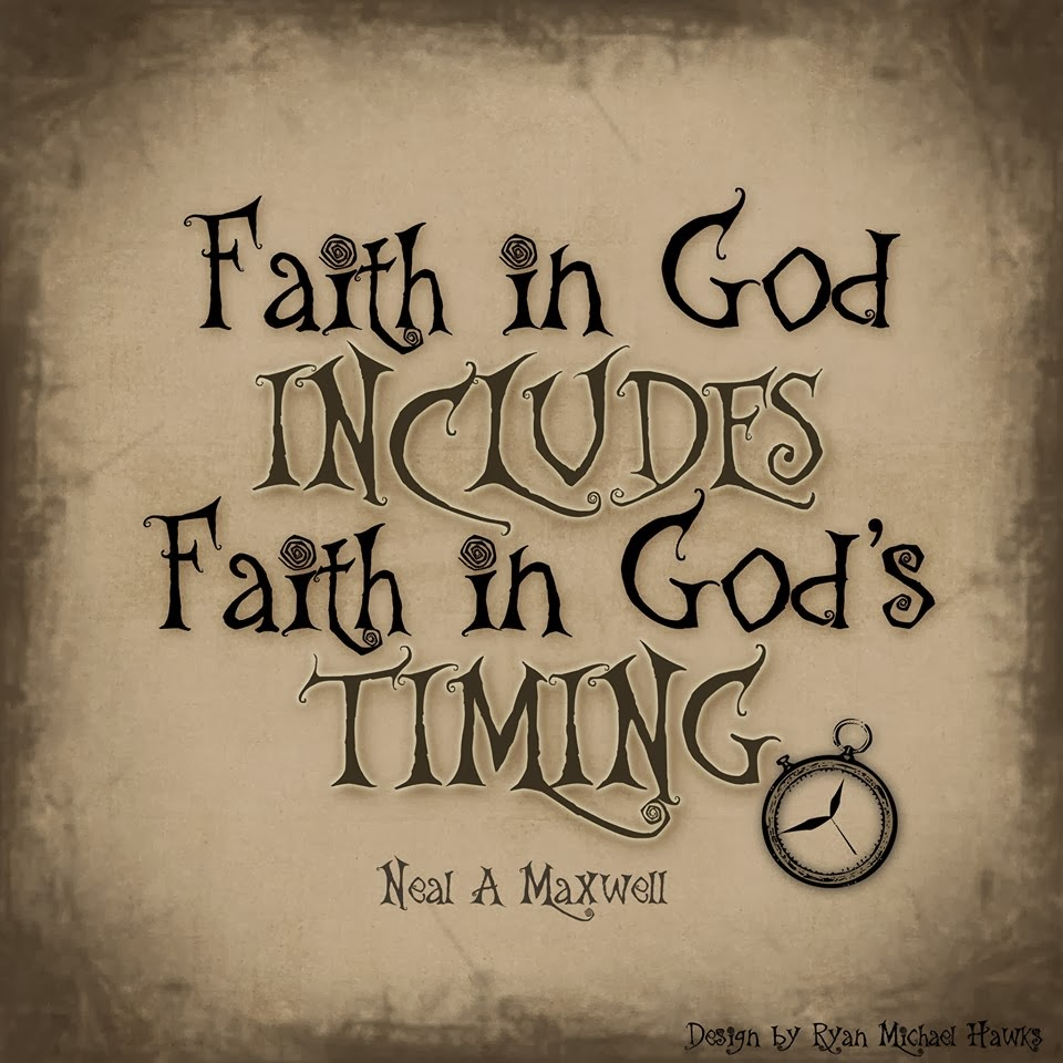 All That Spam: Faith In God Includes Faith In God's Timing