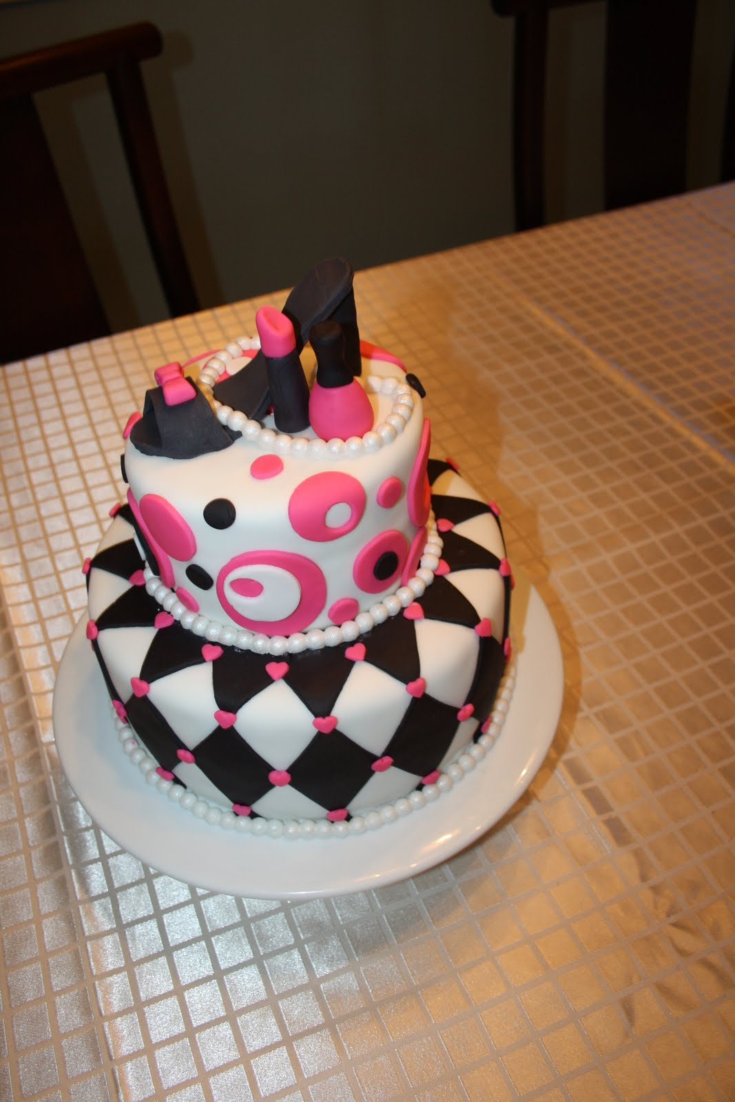Vanilla Beans And Buttercream Fashionista Cakes