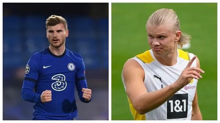 Chelsea plan to move Werner on and replace him with Haaland
