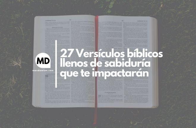 Versículos bíblicos de sabiduría