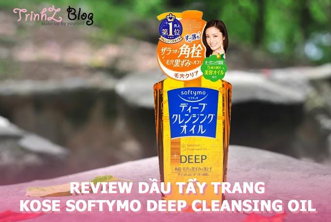 [REVIEW] Dầu Tẩy Trang Làm Sạch Sâu Kosé Cosmeport Softymo Deep Cleansing Oil
