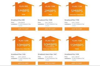 Globe Broadband DSL Plan