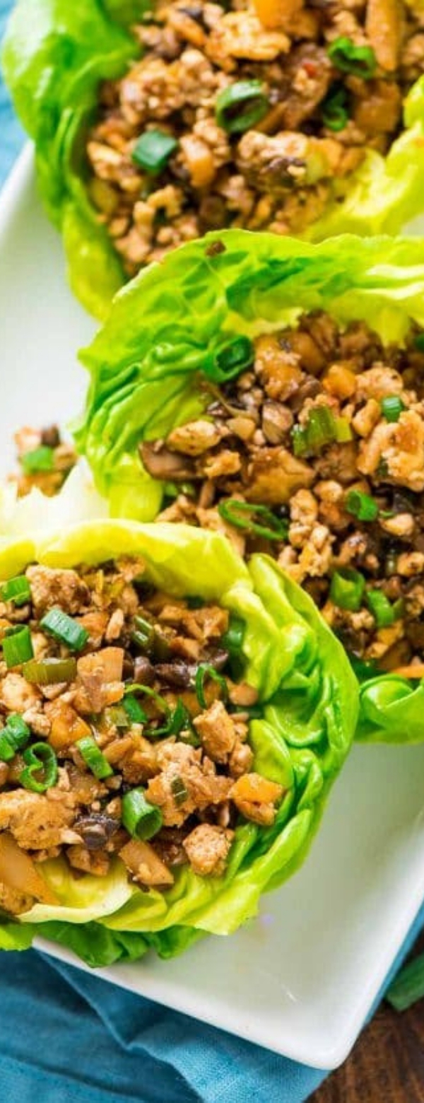 Vegetarian Lettuce Wraps | Copycat PF Changs #VEGETARIAN