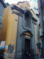 The church of Santa Maria delle Grazie stands on the theatre site