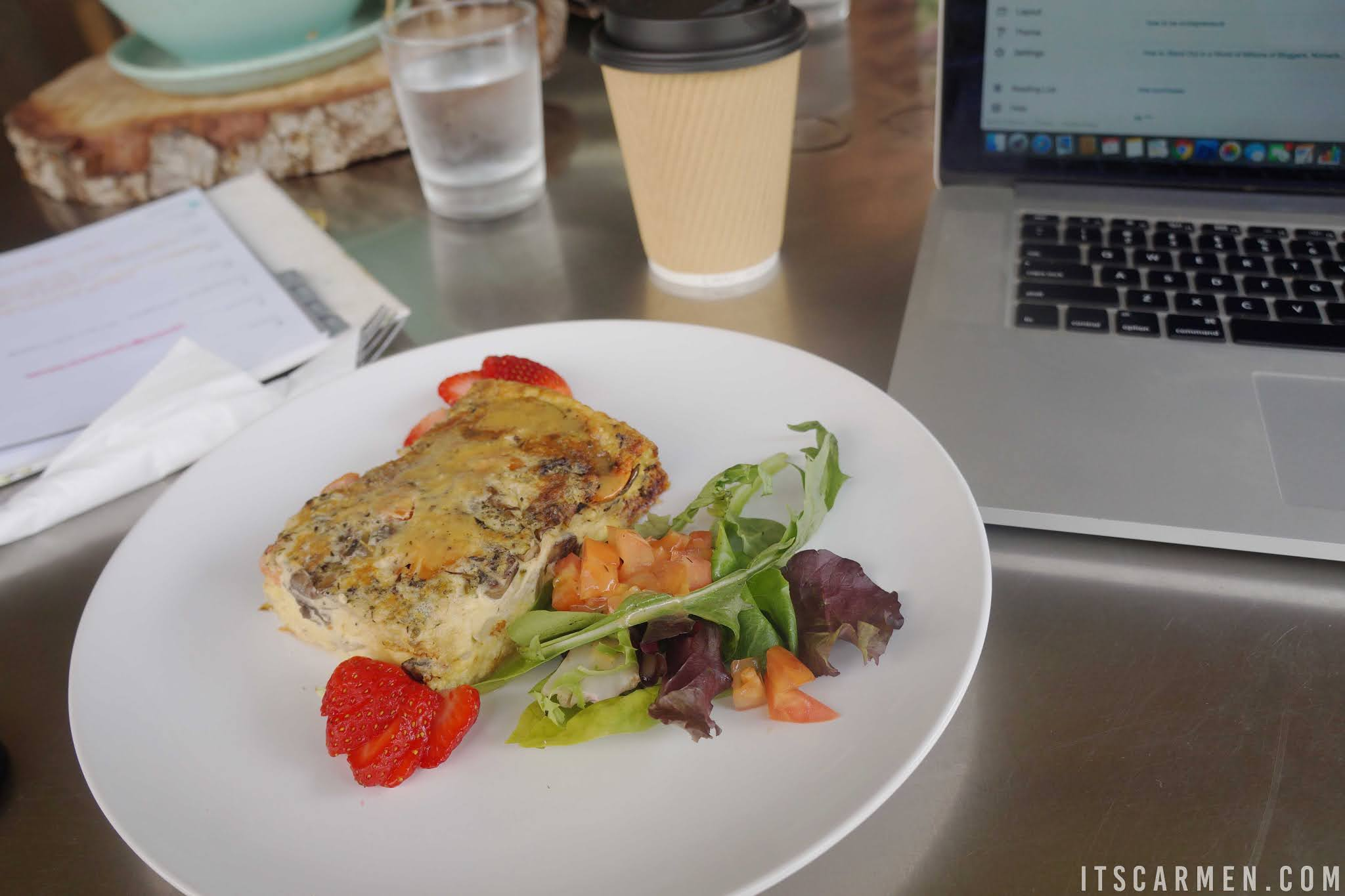 Succulent Cafe Best Carlsbad Coffee Shops San Diego California Travel Food blogger Carmen Varner