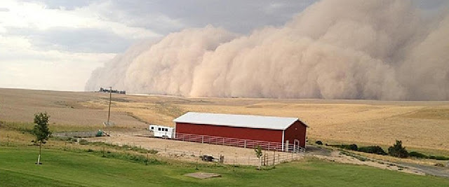 Central and Eastern Washington: Prepare for dust storm season