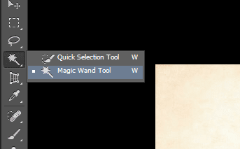 Magic Wand Tool Photoshop