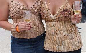 One of my Pinterest boards is full of creative and cute things to do with  corks, including making trivets, shower mats, place-card holders, and  these, uh, ...