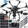YUNEEC Typhoon H Hexacopter with GCO3+ 4K Camera & Manufacturer Accessories + 2 Extra 5400mAh 4S LiPo Flight Batteries + Extra SC 4000-4 DC LiPo Balancing Charger + Extra AC Adapter + MORE