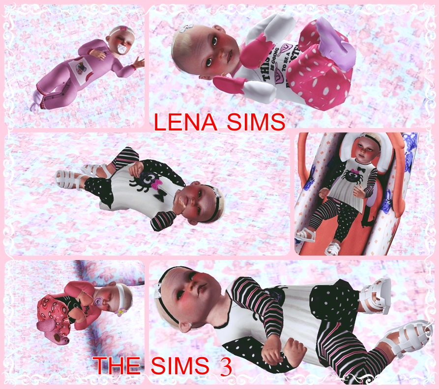 Lena sims anne bebe para the sims 3 for Sims 3 chambre bebe