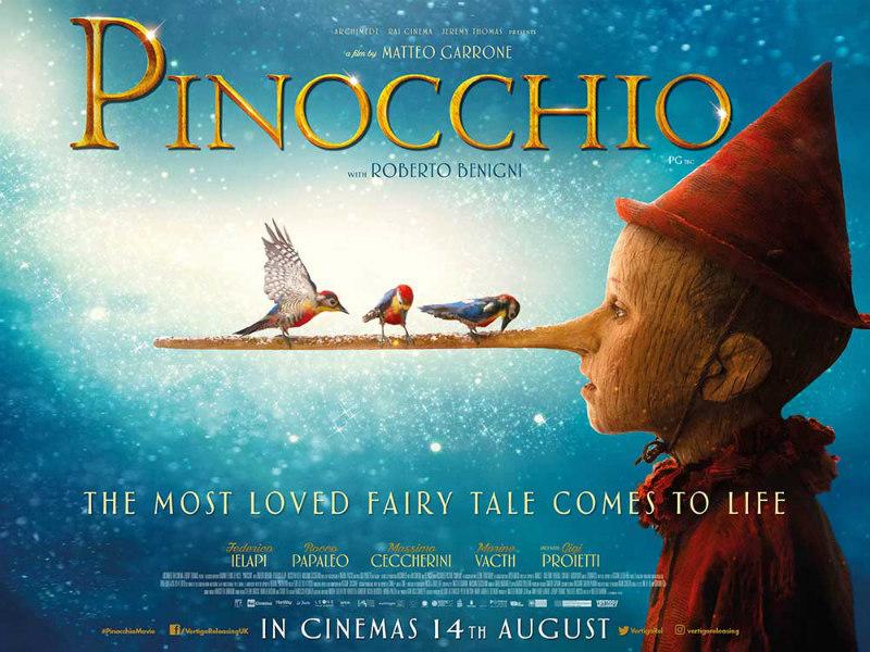 pinocchio 2020 poster