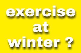 Exercise outside during winter? What clothes should wear!