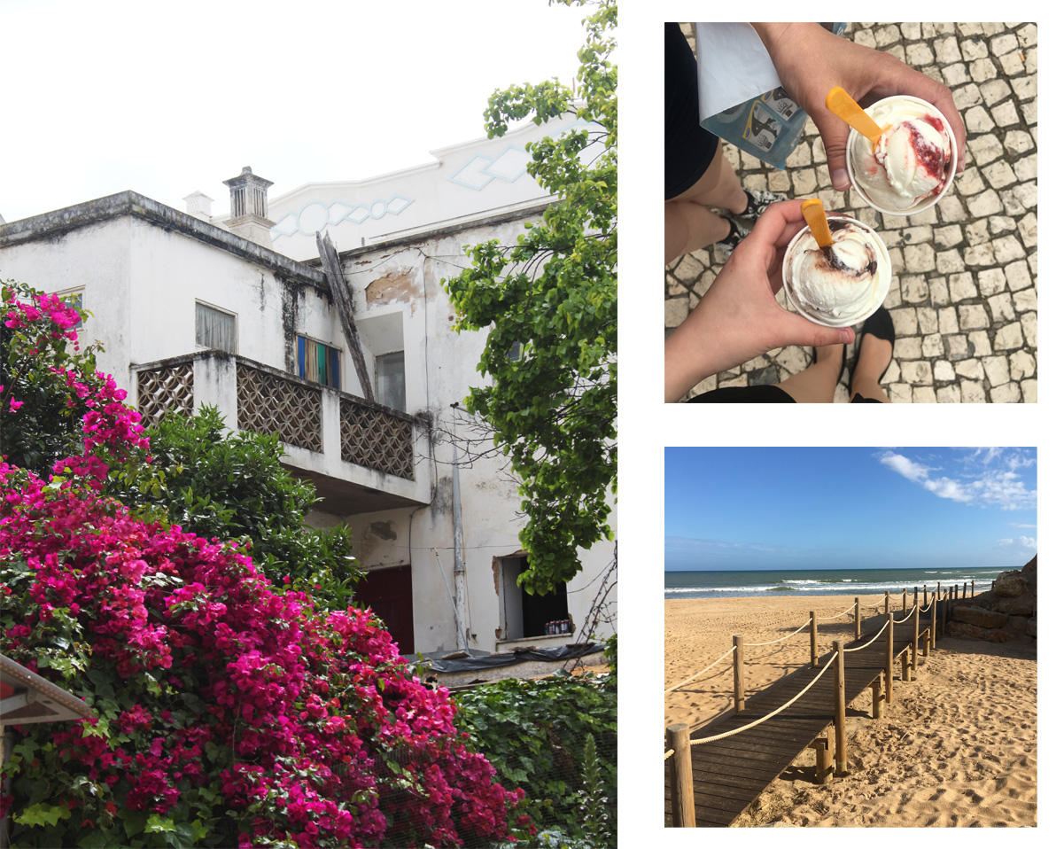 Ice cream, beaches and houses in Albufeira