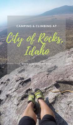 Camping & Climbing at City of Rocks, Idaho, Rock City, Idaho