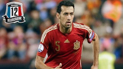 Trong mùa Euro, Sergio Busquets đã chứng tỏ mình là thành viên không thể thiếu trong đội hình của đội tuyển quốc gia Tây Ban Nha.