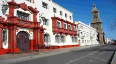 Colonial architecture, La Serena, Chile
