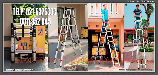 tangga-lipat portable