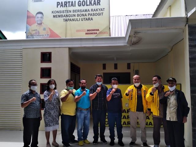 Kader dan Pengurus Golkar Taput Diminta Tingkatkan Konsolidasi Partai