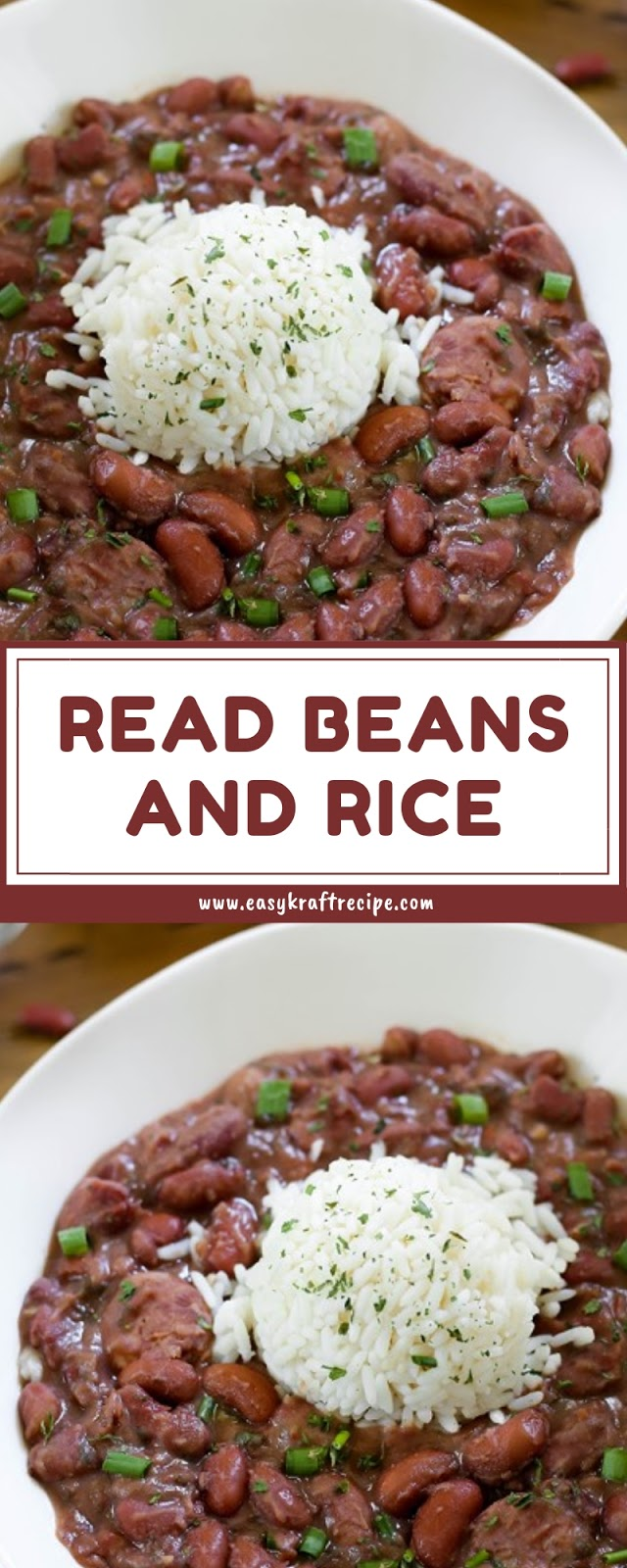 READ BEANS AND RICE