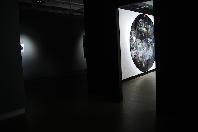 Howard Podeswa: A Brief History Exhibition at Koffler Gallery in Toronto, Exhibit, Ontario, Canada, Culture, Art, ArtMatters, Painting, The Purple Scarf, MelaniePs, Hell, Heaven