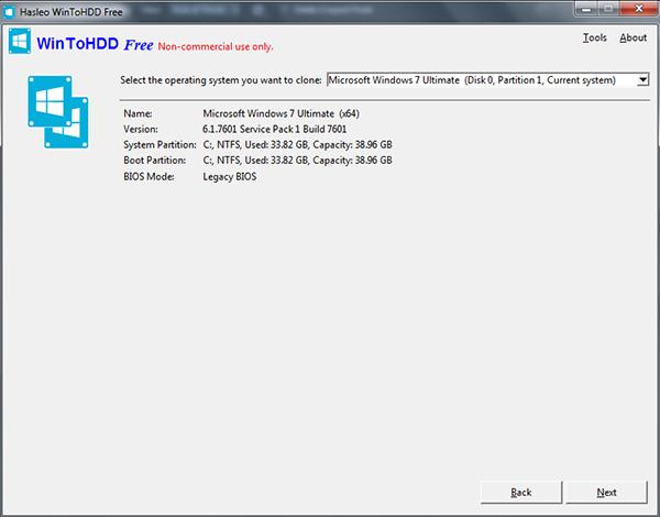 Download WinToHDD 5.1 - Cài Win từ ổ cứng dễ dàng, nhanh chóng b