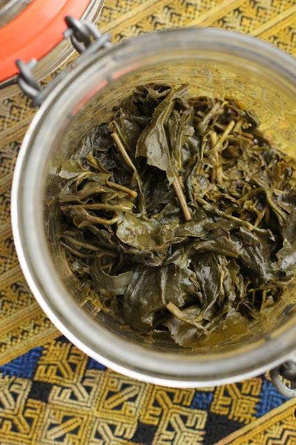 laphet lahpet thé fermenté maison