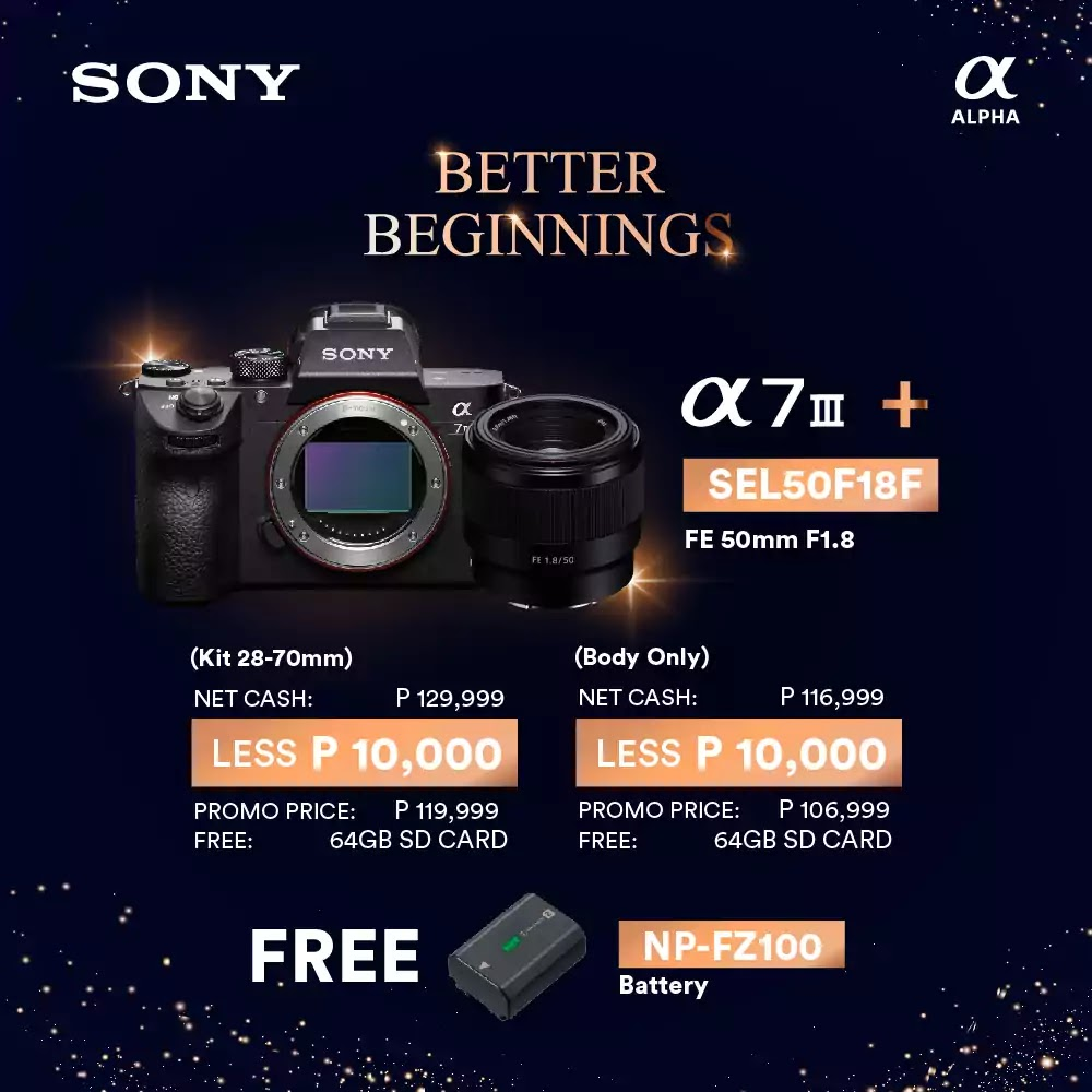 Sony Philippines' New Year bundles