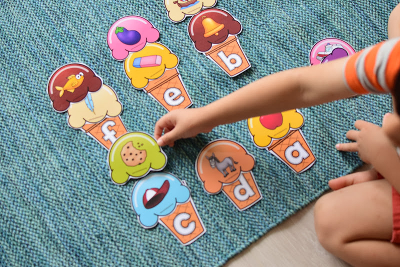 SUMMER THEMED LEARNING: ICE CREAM BEGINNING LETTER SOUND