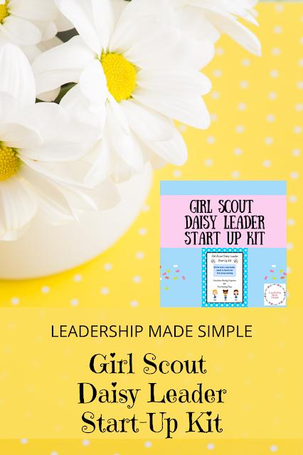 Girl Scout Daisy Leader Start Up Kit