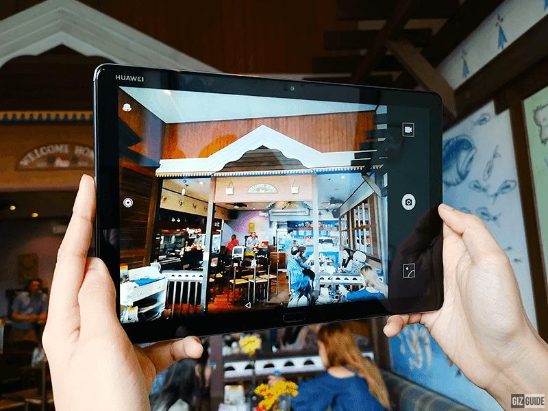 The cameras and camera app are both impressive too