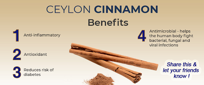 List of health benefits of Ceylon Cinnamon