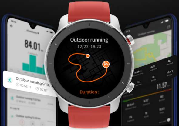 xiaomi Huami Amazfit GTR 47mm AMOLED Smart watch Sports xiaomi Amazfit GTR