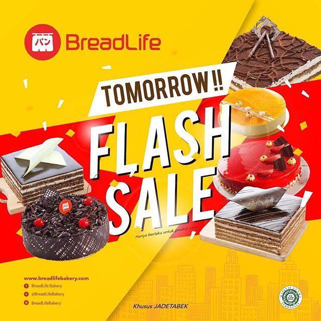 Breadlife - Promo Flash Sale Cake 100K Saja (HARI INI - 23 Desember 2018)