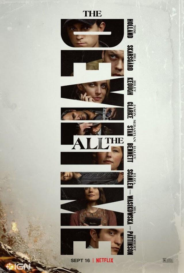 Já está entre nós o trailer oficial da adaptação de The Devil all the Time