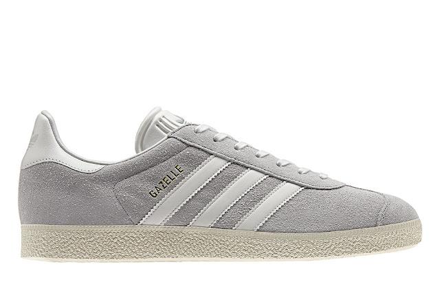 Gazelle Adidas Originals relança clássico cinza grey
