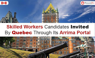 skilled worker candidates over two Arrima draws by Quebec