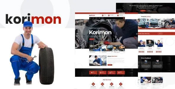 Best Car Repair Responsive HubSpot Theme