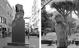 El Pensador escultura de Rodin en Las Palmas de gran Canaria