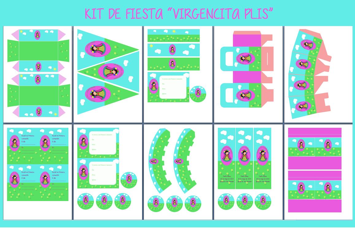 """Kit de fiesta """"Virgencita Plis"""""""
