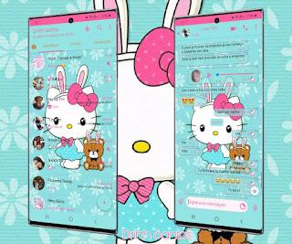 Coelho Kitty Theme For YOWhatsApp & Fouad WhatsApp By Driih Santos