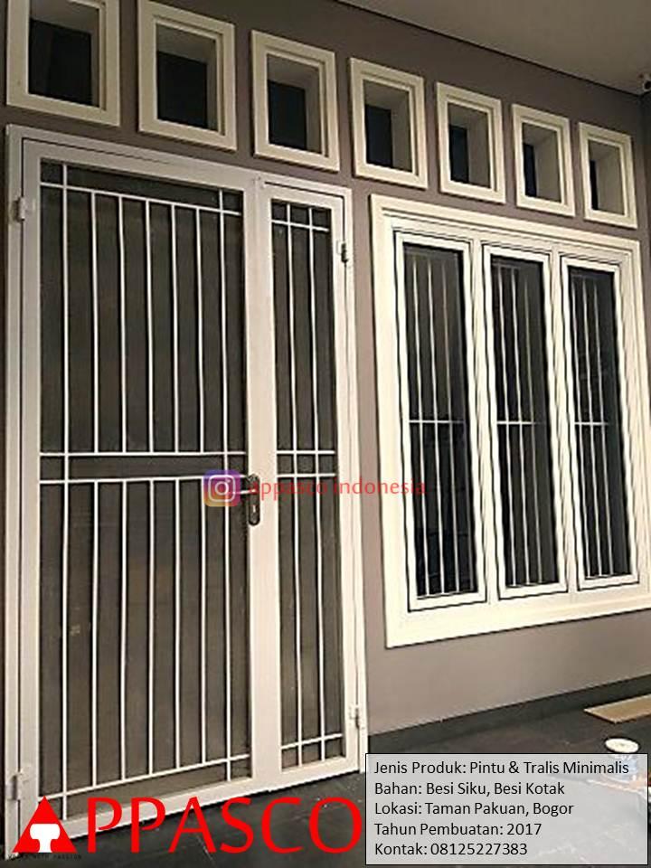 Pintu dan Teralis Minimalis di Pakuan Bogor