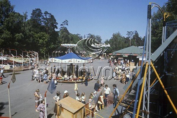 1984 год. Луна-парк в Юрмале