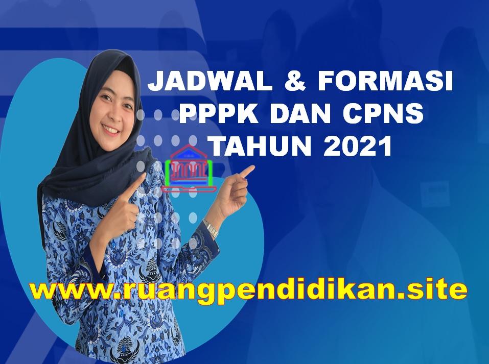 Jadwal Seleksi CPNS/PPPK