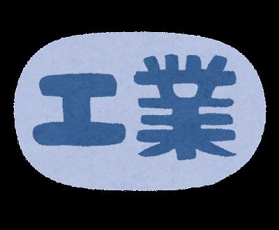 「工業」のイラスト文字