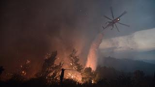Αναδημοσίευση νέου Δελτίου Τύπου του Πυροσβεστικού Σώματος σχετικά με τη δασική πυρκαγιά στον Κάλαμο Αττικής