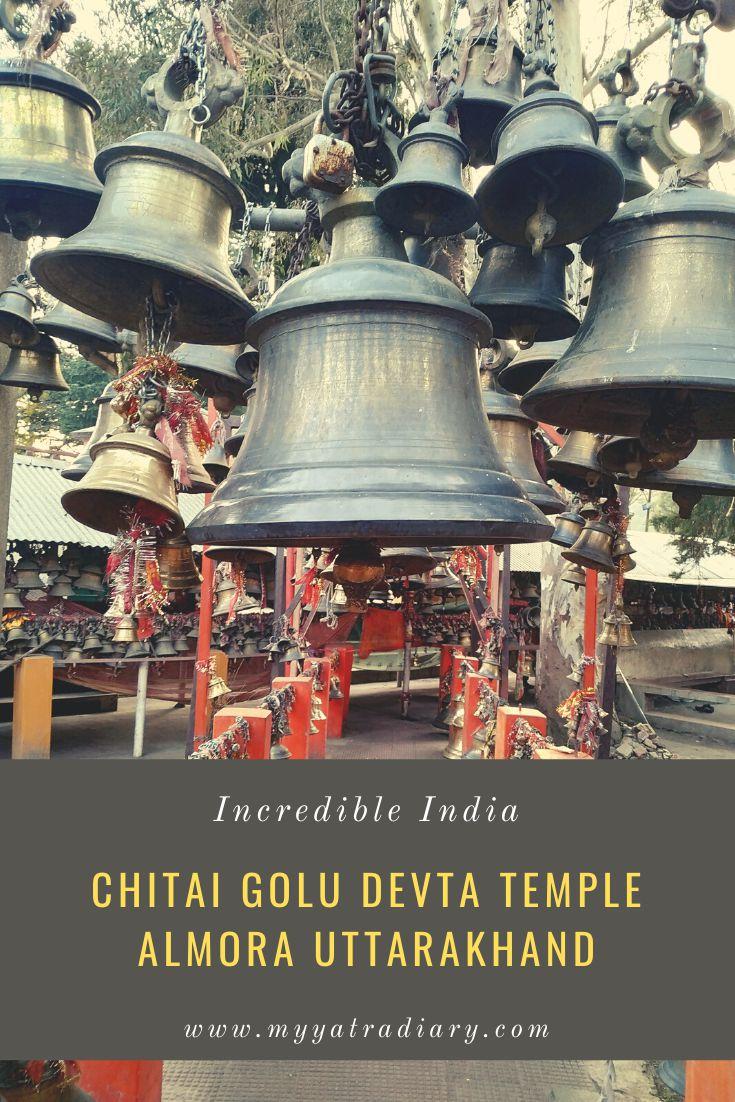 Chitai Golu Devta Almora Uttarakhand Pinterest Graphic
