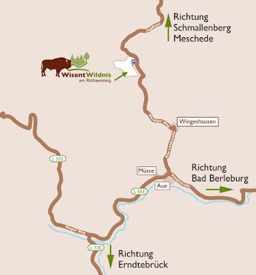 Cómo llegar al parque natural Wisent-Wildnis am Rothaarsteig