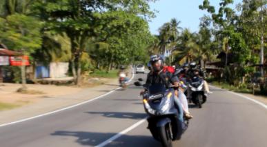 Ngabuburit Kebiasaan Komunitas Honda PCX Club Indonesia