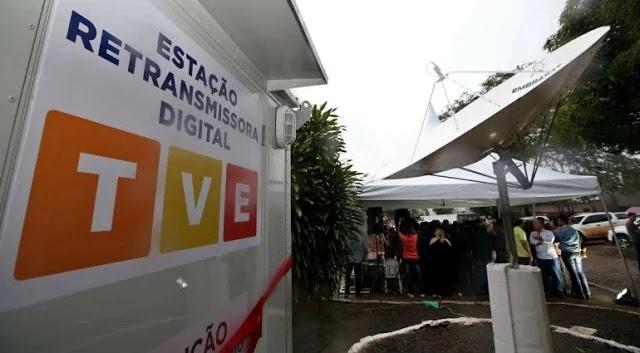 expansão do sinal digital da TV Educativa (TVE) no interior do Estado