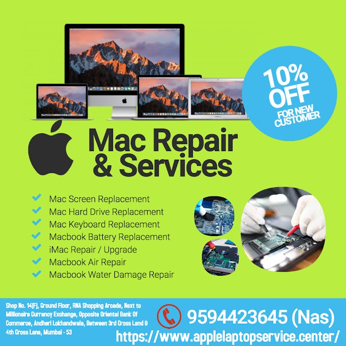 Mac Repair & Services in Lokhandwala